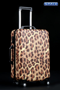 1/6 Scale Leopard Travel Trolley draw bar box 3.0