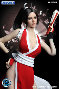 1/6 Scale red Japanese Clothing Set