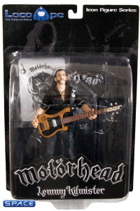 Lemmy Kilmister with Black Pick Guard Guitar (Motörhead)