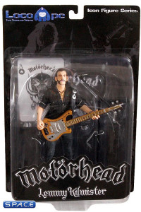 Lemmy Kilmister with Rickenbacker Guitar Cross (Motörhead)