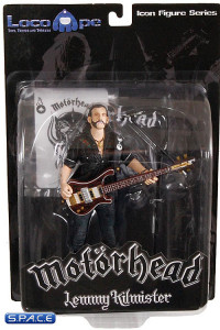 Lemmy Kilmister with Rickenbacker Guitar Dark Wood (Motörhead)