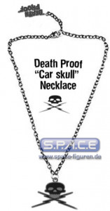 Death Proof Car Diecut Necklace (Grindhouse)