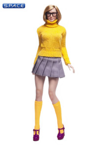 1/6 Scale Mystery Girl Female Character Set Velma yellow