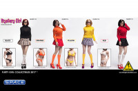 1/6 Scale Mystery Girl Female Character Set Velma red