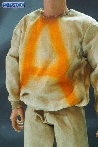 1/6 Scale Prisoner Outfit Set with bare feet