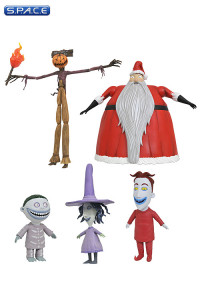 Complete Set of 3: Nightmare before Christmas Select Series 3 (Nightmare before Christmas)