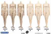 1/6 Scale Super-flexible female suntan Body large breast