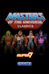 Complete Set of 4: MOTU Collector's Choice Figures Wave 1 (MOTU Classics)