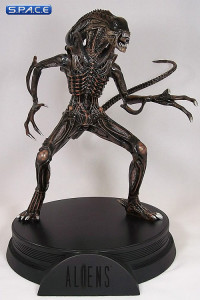 Alien Warrior Signature Statue