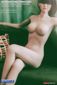 1/6 Scale Seamless Female pale Body removable feet / medium breast / headless