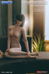 1/6 Scale Seamless Female suntan Body removable feet / medium breast / headless