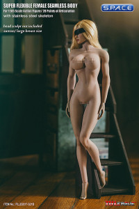 1/6 Scale Seamless Female suntan Body removable feet / strong legs / large breast / headless