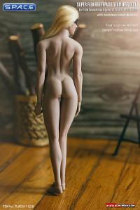 1/6 Scale Seamless Female suntan Body removable feet /  strong legs / medium breast / headless