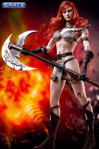 1/6 Scale Red Sonja - Scars of the She-Devil