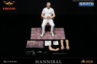 1/6 Scale Hannibal Lecter - White Prison Uniform Version (Silence of the Lambs)
