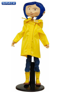 Coraline Rain Coat Bendy Fashion Doll (Coraline)