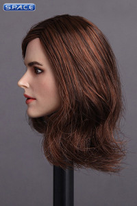 1/6 Scale Keira Head Sculpt (long brown hair)