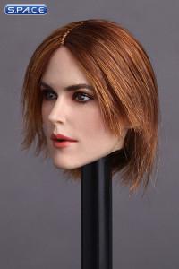 1/6 Scale Keira Head Sculpt (short brunette hair)