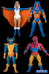 Complete Set of 4: MOTU Club Grayskull Figures Wave 2 (He-Man and the Masters of the Universe)