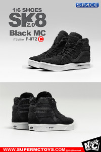 1/6 Scale Black MC Shoes