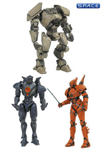 Complete Set of 3: Pacific Rim: Uprising Select Series 1 (Pacific Rim: Uprising)