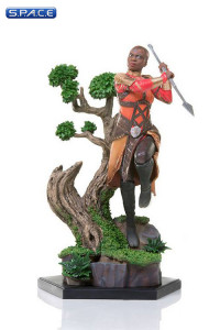 1/10 Scale Okoye Battle Diorama Series Statue (Black Panther)
