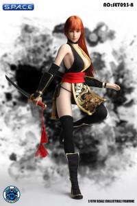 1/6 Scale black combat Girl Set