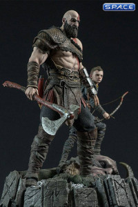 Kratos & Atreus Statue (God of War)