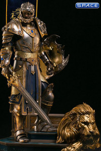 King Llane Epic Series Premium Statue (Warcraft)