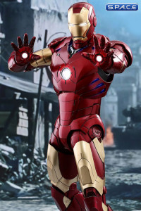 1/4 Scale Iron Man Mark III Deluxe Version QS012 (Iron Man)