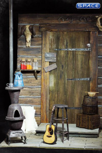 1/6 Scale The Door of Haberdashery Cinematic Diorama (The Hateful Eight)