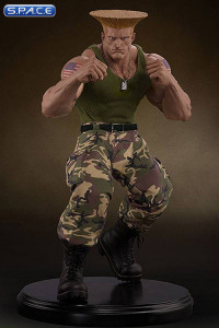1/4 Scale Guile Mixed Media Statue (Street Fighter)