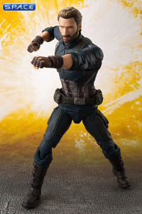 Captain America with Tamashii Effect Explosion - S.H. Figuarts (Avengers: Infinity War)