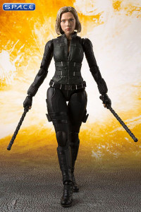 S.H.Figuarts Black Widow with Tamashii Effect Explosion (Avengers: Infinity War)