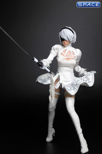 1/6 Scale white Android Cosplay Set