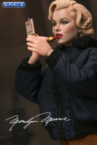 1/6 Scale Marilyn Monroe in Military Outfit