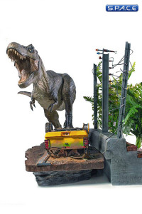 1/10 Scale T-Rex Attack Set A BDS Art Scale (Jurassic Park)
