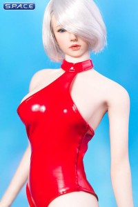 1/6 Scale Miss 2B's Swimsuit Set red