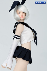 1/6 Scale Sailor Bunny Suit Set black