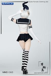 1/6 Scale Sailor Bunny Suit Set black