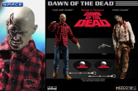 1/12 Scale Flyboy & Plaid Shirt Zombie One:12 Collective 2-Pack (Dawn of the Dead)