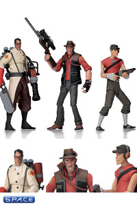 Complete Set of 3: Team Fortress 2 Series 4 (Team Fortress 2)