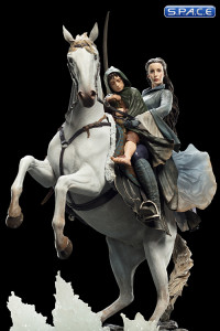 Arwen and Frodo on Asfaloth Statue (Lord of the Rings)