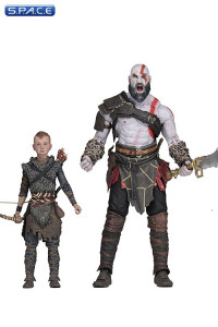 Ultimate Kratos & Atreus 2-Pack (God of War)