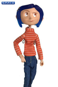 Coraline in Striped Shirt and Jeans Articulated Figure (Coraline)