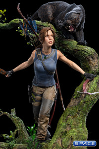 Lara Croft Statue (Shadow of the Tomb Raider)