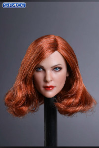 1/6 Scale Mila Head Sculpt (curly copper Hair)