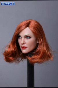 1/6 Scale Mila Head Sculpt (curly copper Hair)