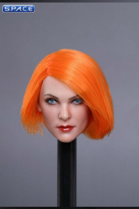 1/6 Scale Mila Head Sculpt (short orange Hair)
