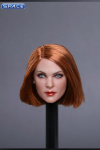 1/6 Scale Mila Head Sculpt (short brown Hair)